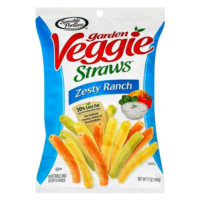 Garden Veggie Straws (Zesty Ranch)