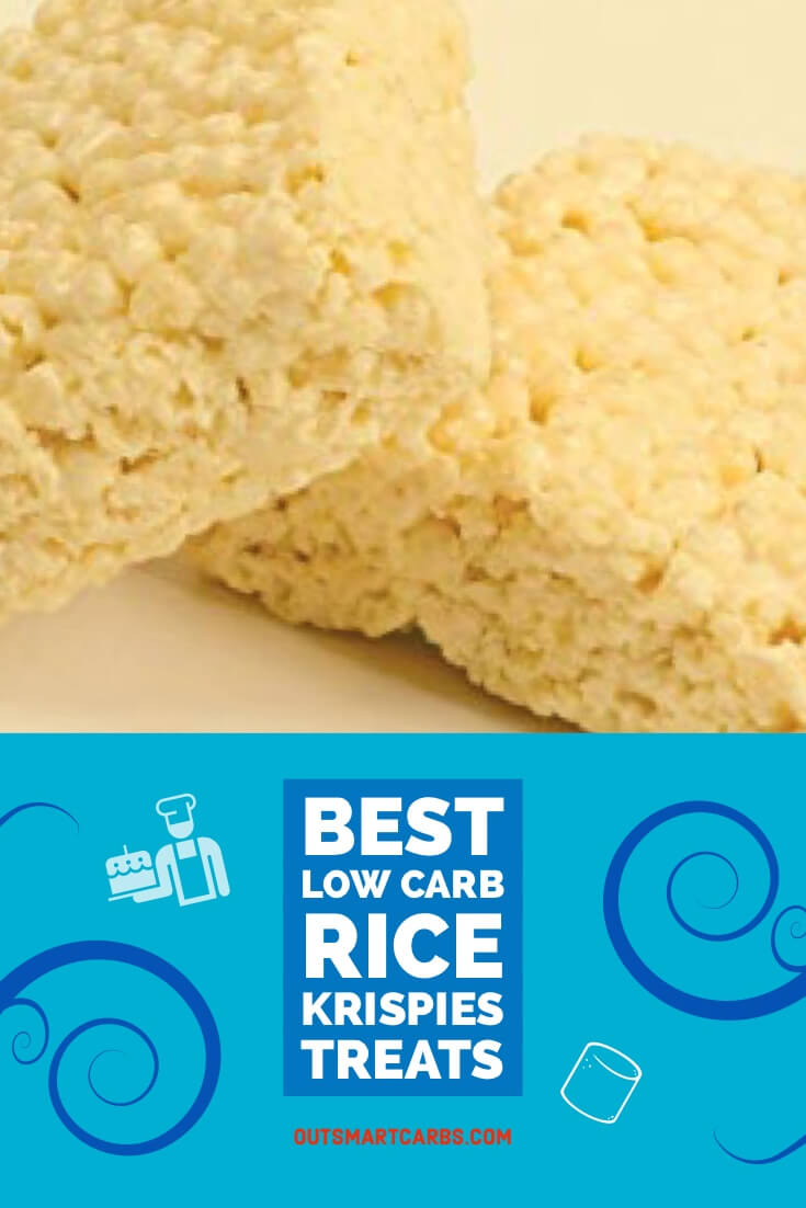 Low Carb Rice Krispy Treats
