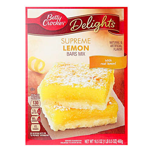 Betty Crocker Lemon Bar Mix