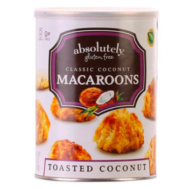 Absolutely Gluten Free Toasted Coconut Macaroons