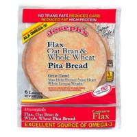 Joseph's Flax Oat Bran & Whole Wheat Pita Bread