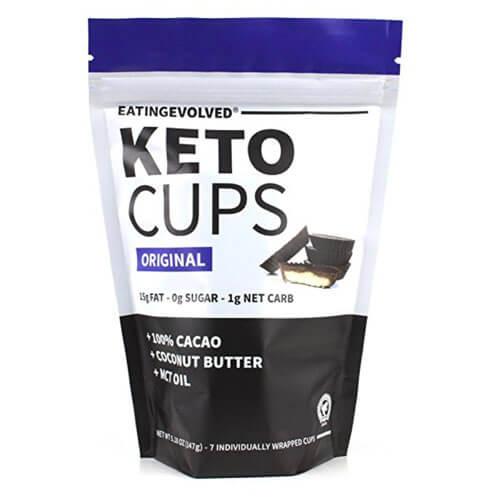 Bag of Eating Evolved keto cups