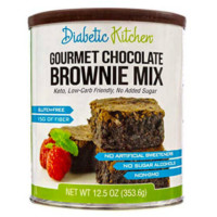 Diabetic Kitchen Gourmet Chocolate Brownie Mix