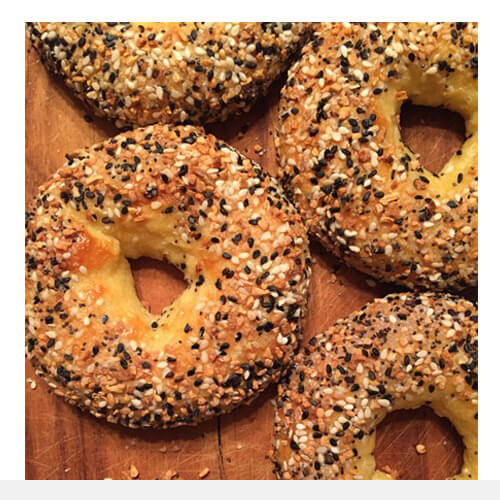 Keto Friendly Low Carb Everything Bagels