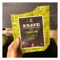 KRAVE Jerky Gourmet Beef Cuts (Chili Lime)