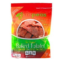 Green Split Pea Baked Falafel Chips