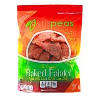 Green Split Pea Baked Falafel Chips