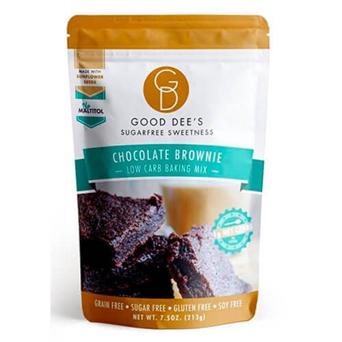 Good Dee's Low Carb, Sugar Free, Gluten Free Brownie Mix