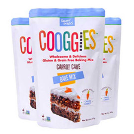 Cooggies Gluten Free, Carrot Cake Baking Mix