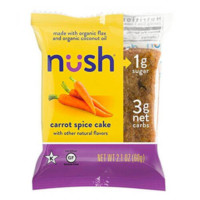 Nush Low Carb, Keto, Carrot Spice Snack Cake