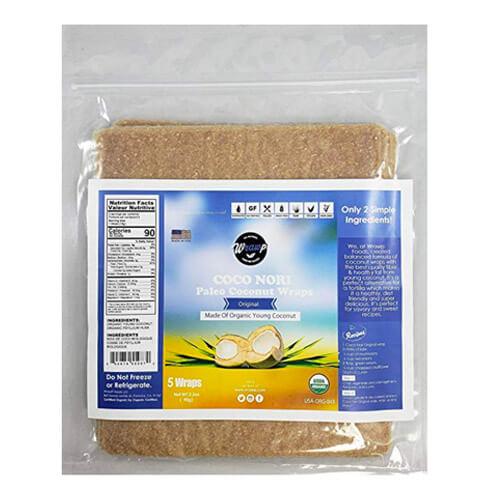 Coco Nori Original (Raw, Vegan, Paleo, Gluten Free wraps)
