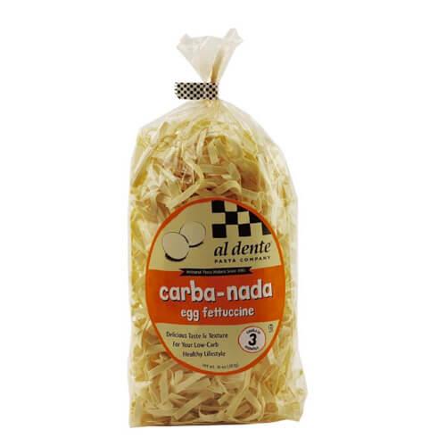 Al Dente Carba-Nada Egg Fettuccine