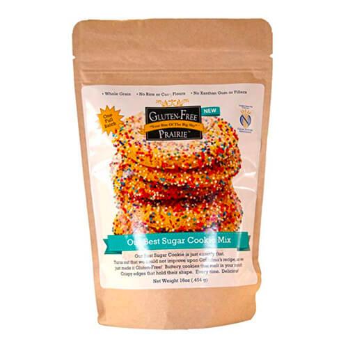 16 oz pouch of Gluten Free Prairie, Our Best Sugar Cookie Mix