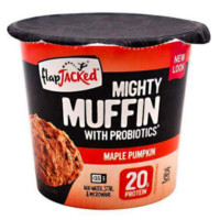 FlapJacked Mighty Muffins, Gluten-Free Maple Pumpkin
