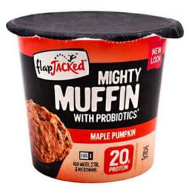 FlapJacked Mighty Muffins, Gluten-Free Maple Pumpkin