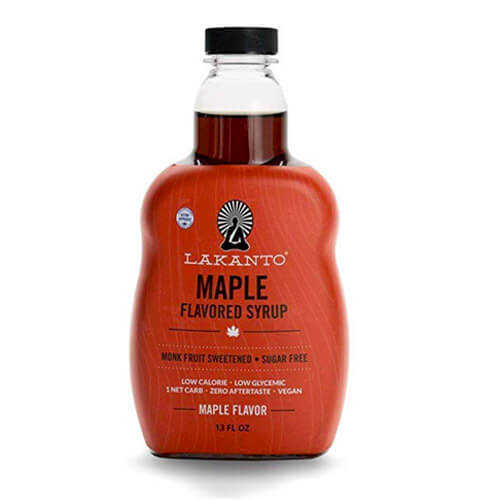 13 oz bottle of Lakanto Maple Flavored Sugar-Free Syrup