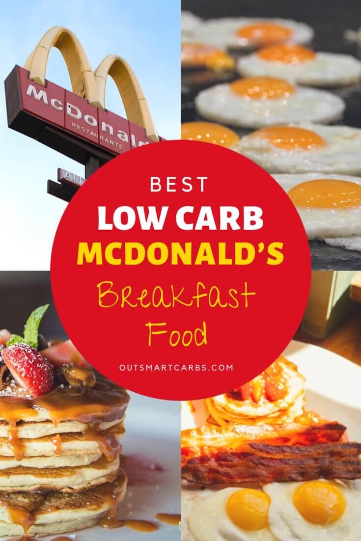 Low Carb McDonald's Breakfast