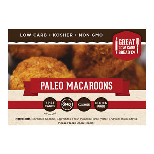 4 oz package of Great Low Carb Macaroons