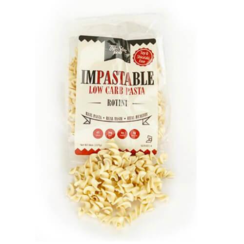 ThinSlim Foods Impastable Low Carb Pasta Rotini