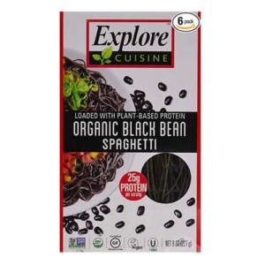 Explore Cuisine Organic Black Bean Spaghetti Pasta