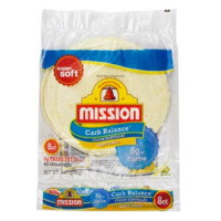 Mission Low Carb Soft Taco Flour Tortilla's