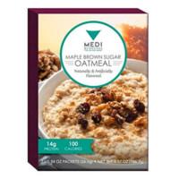 Medi-Weightloss Maple Brown Sugar Oatmeal