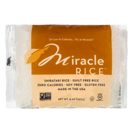 Miracle Noodle Zero Carb – Gluten Free Shirataki Rice