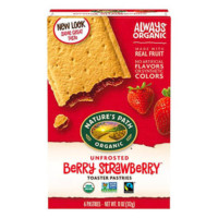 Nature's Path Organic Toaster Pastries (Berry Strawberry)