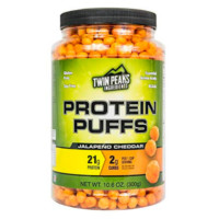 Twin Peaks Ingredients Protein Puffs – Jalapeño Cheddar