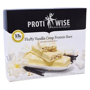 ProtiWise – Fluffy Vanilla Crisp High Protein Diet Bars