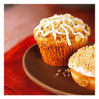 Dunkin' Donuts Pumpkin Muffin