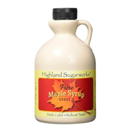 Highland Sugarworks, Pure Grade A, 100% Maple Syrup