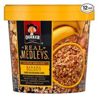 Quaker Real Medleys Super Grains Oatmeal