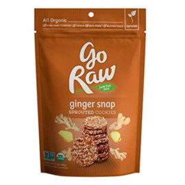 Go Raw Organic Superfood Ginger Cookies