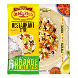 Old El Paso Restaurant Grande Flour Tortillas