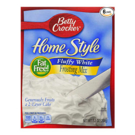Betty Crocker Homestyle Fluffy White Frosting Mix